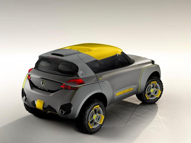 New Delhi 2014 : le Renault Kwid Concept et son Flying Companion en vidéos