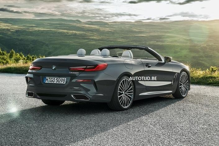 BMW Série 8 cabriolet: les premières photos en fuite