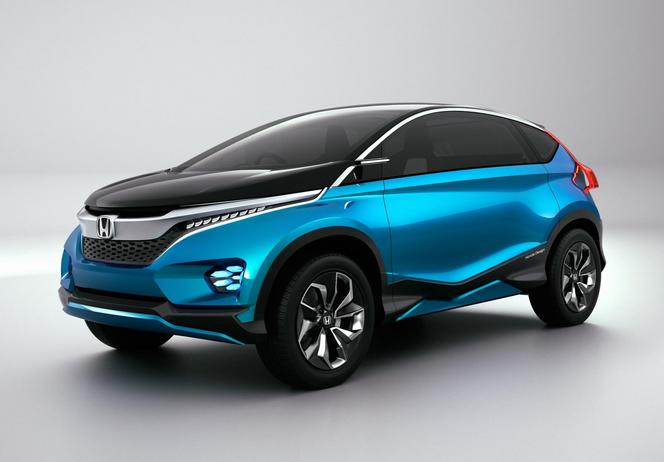 New Delhi 2014 : Honda Vision XS-1, grand et compact
