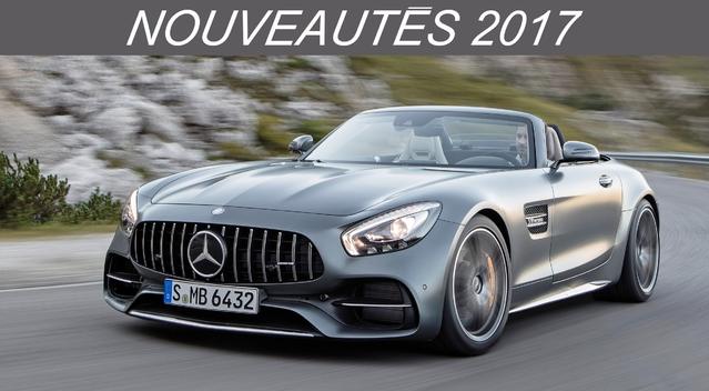Nouveautés 2017 – Cabriolets: Mercedes met la pression!