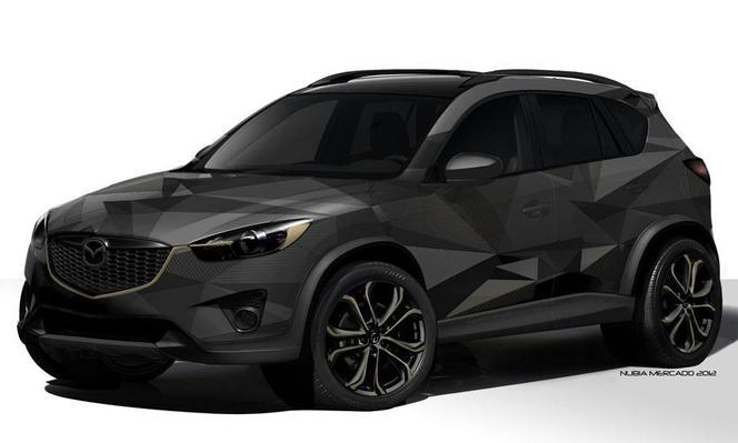 SEMA Show 2012 : Trois Mazda CX-5 dont un pour Patrick Dempsey