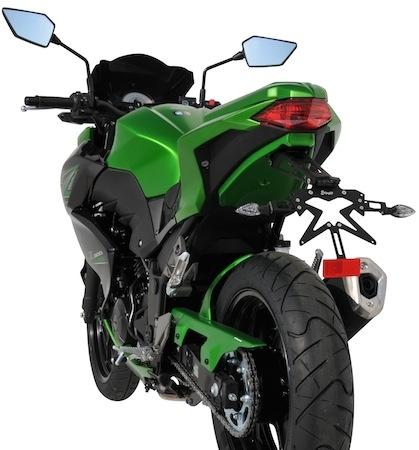 La Kawasaki Z300 selon Ermax