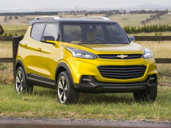 New Delhi 2014 : Chevrolet Adra concept, la tendance se confirme