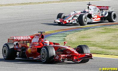 Formule 1 - Test Valence D.4: Kimi clôt les débats