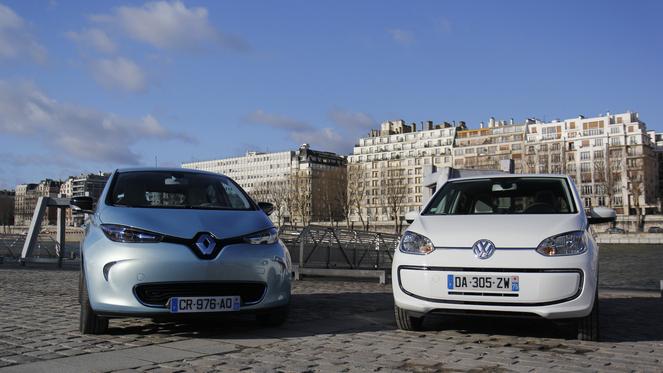 Comparatif vidéo - Renault Zoé vs Volkswagen e-Up! : deux philosophies