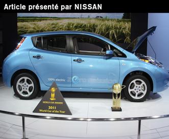 La LEAF collectionne les prix dans le monde [Rédigé par Nissan]