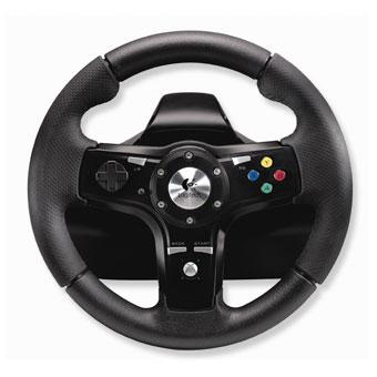 Volant logitech drivefx pour les fans de jeux de course - Jeux de dinosaure volant ...