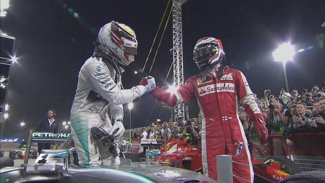 F1 - GP de Barheïn : Hamilton gagne devant Räikkönen