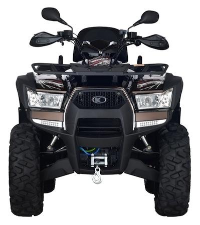Kymco: le MXU 550i EX en concession
