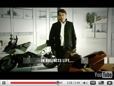 La KTM Venom refait surface dans un spot publicitaire...