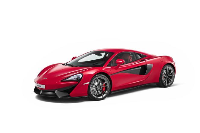 """Shanghai 2015 : McLaren présente sa """"très petite""""  540C"""