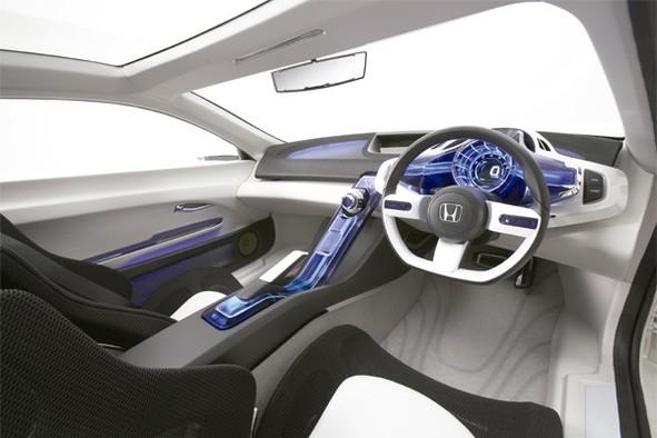 Salon de Tokyo : la Honda CR-Z est futuriste, hybride et dynamique
