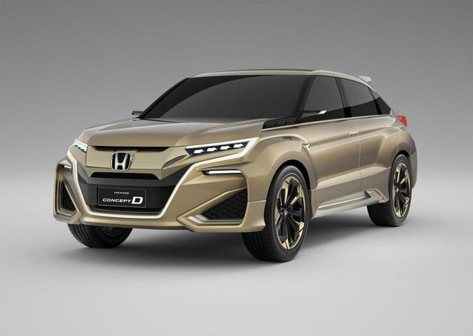 shanghai 2015 honda concept d futur suv haut de gamme pour la chine. Black Bedroom Furniture Sets. Home Design Ideas