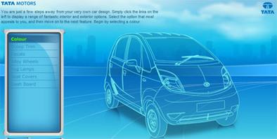 Pimp my Nano: visitez le configurateur de Tata Nano !