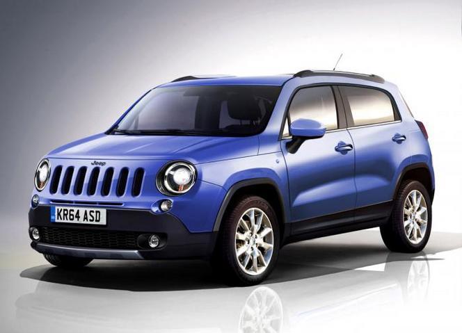 Future Jeep Laredo : comme ça ?