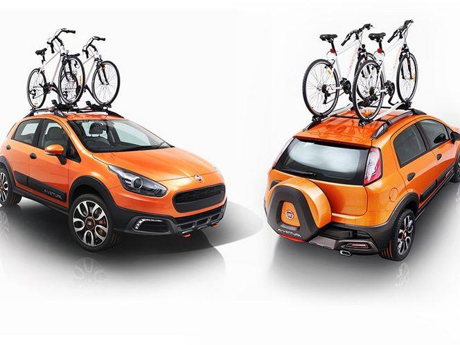 New Delhi 2014 : Fiat recycle et présente la Punto Avventura