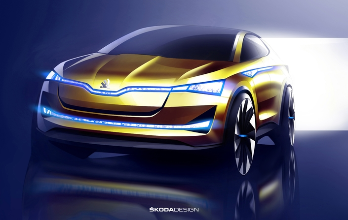 """Skoda promet des modèles électriques fidèles à la principale valeur de la marque, le fameux """"value for money""""."""