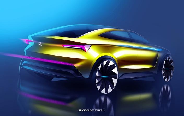 Le concept-car Vision E emprunte aux univers des coupés et du SUV.