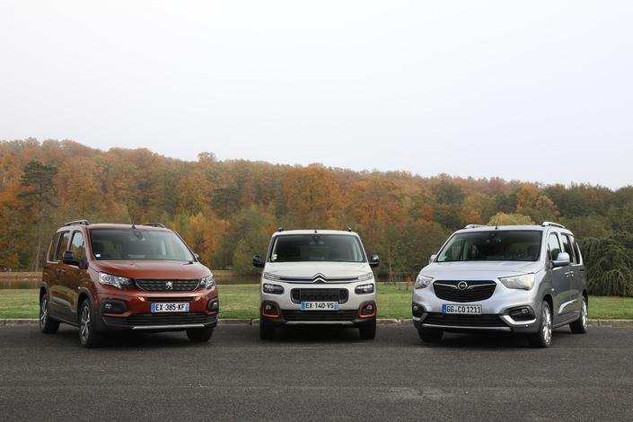 Peugeot Rifter, Citroën Berlingo, Opel Combi Life, la nouvelle génération de ludospace.