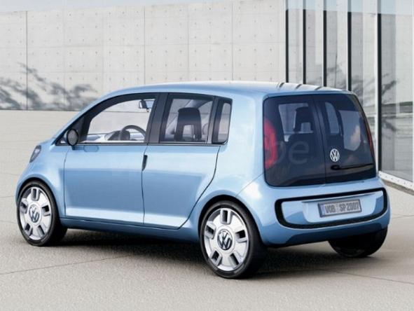 Salon de Tokyo : Volkswagen présente la Space Up!, une version monospace de la Up!