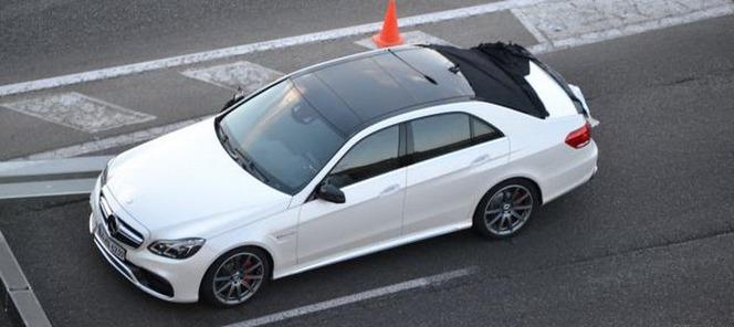 Surprise : le nouveau regard de la Mercedes Classe E