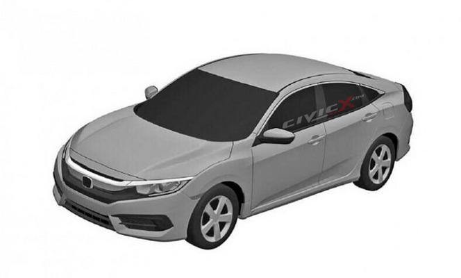 La nouvelle Honda Civic américaine se montre