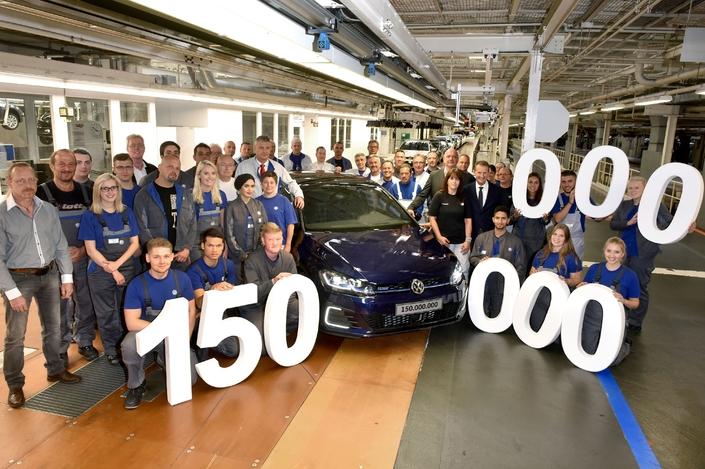 Volkswagen a produit 150millions de voitures depuis ses débuts
