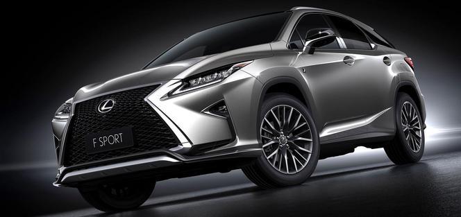 """Shanghai 2015 : Lexus présente le """"petit"""" RX 200t"""