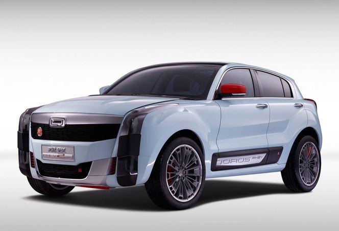 Shanghai 2015 : Qoros expose le concept Qoros 2 SUV PHEV