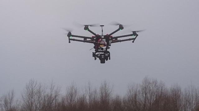 En Belgique, la police utilise des drones sur les scènes d'accidents