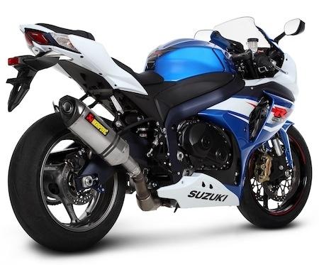 Akrapovic: 3 solutions pour la Suzuki GSX'R 1000 (2012)