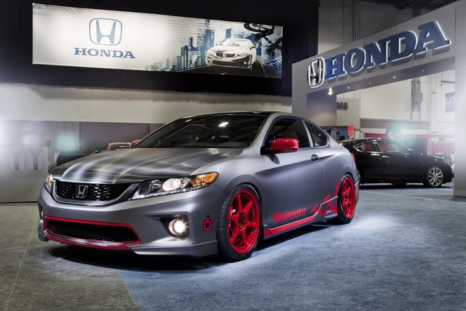 "SEMA Show 2012 : Honda Accord Coupé ""Grand Touring"""