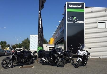 Nouvelle concession Kawasaki à Tarbes: O4 Moto