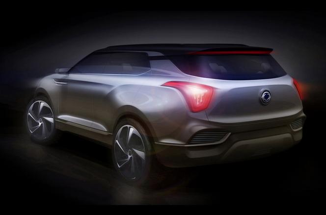 Salon de Genève 2014 - SsangYong XLV concept: raffiné et dynamique!