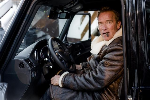 Après le Hummer, Arnold Schwarzenegger passe au Mercedes Classe G... électrique !