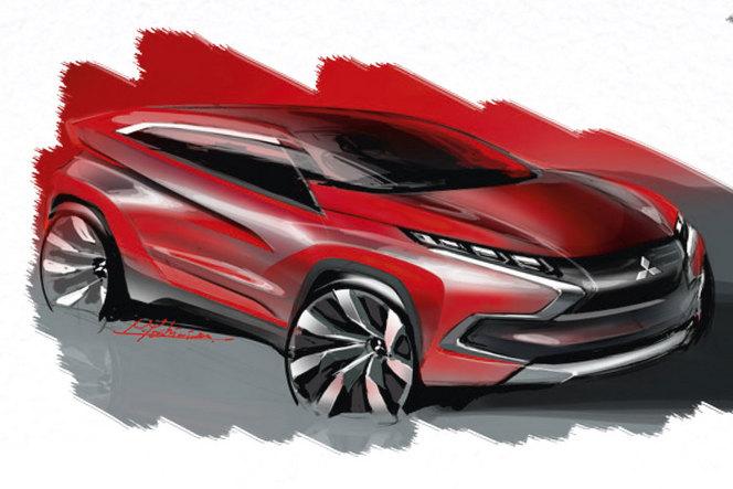 Salon de Genève 2014 - Mitsubishi avec trois concepts familiers...