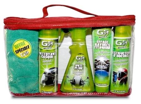 Pack été GS 27: pour l'entretien de votre moto mais aussi de votre équipement
