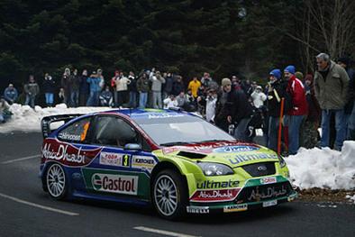 WRC Monte-Carlo Final : Loeb maîtrise ses sujets