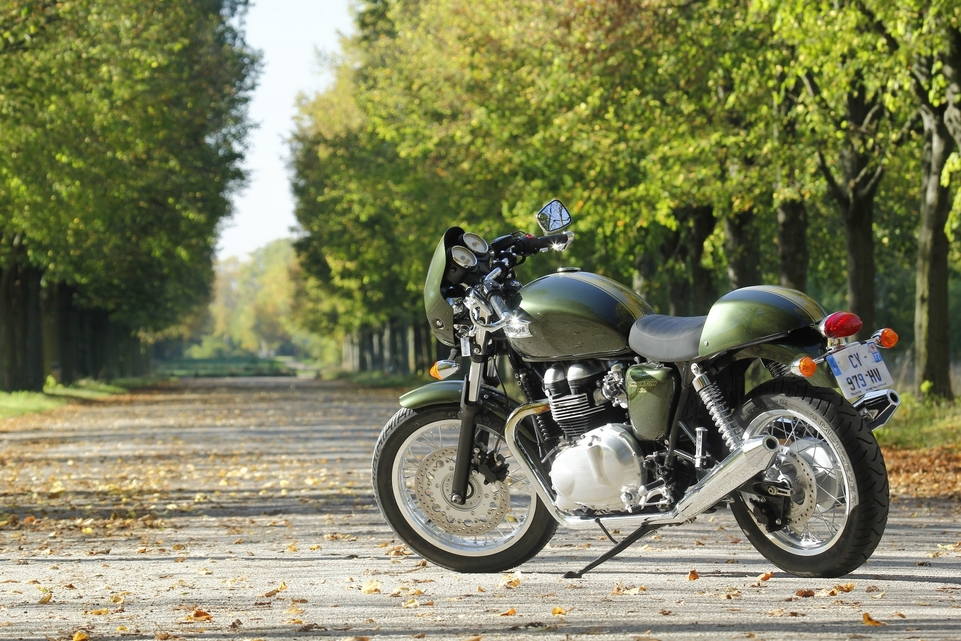 Essai Triumph Thruxton 900 : Only You !