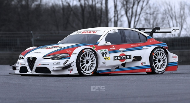 """Alfa Romeo : voilà à quoi pourrait ressembler la Giulia """"Touring"""""""