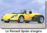 Une rareté dans le monde du tuning : le Renault Spider