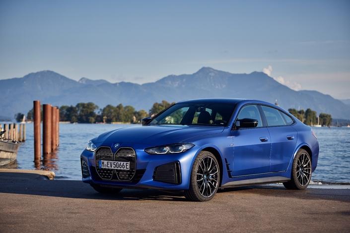 la plus dynamique des BMW électriques