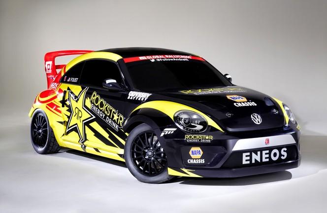 Salon de Chicago - Une Volkswagen Beetle GRC de 560ch pour le rallycross