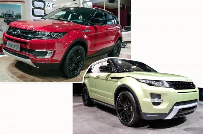 Shanghai 2015 : Land Rover impuissant face aux copies Landwind