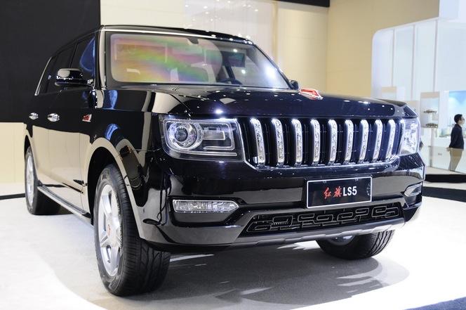 Shanghai 2015 : Hongqi LS5, la limousine chinoise s'élève