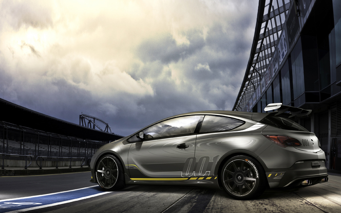 Toutes les nouveautés du salon de Genève 2014 - Opel Astra OPC Extreme: compétition sur route