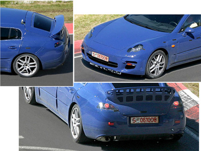 Porsche Panamera: Encore des photos