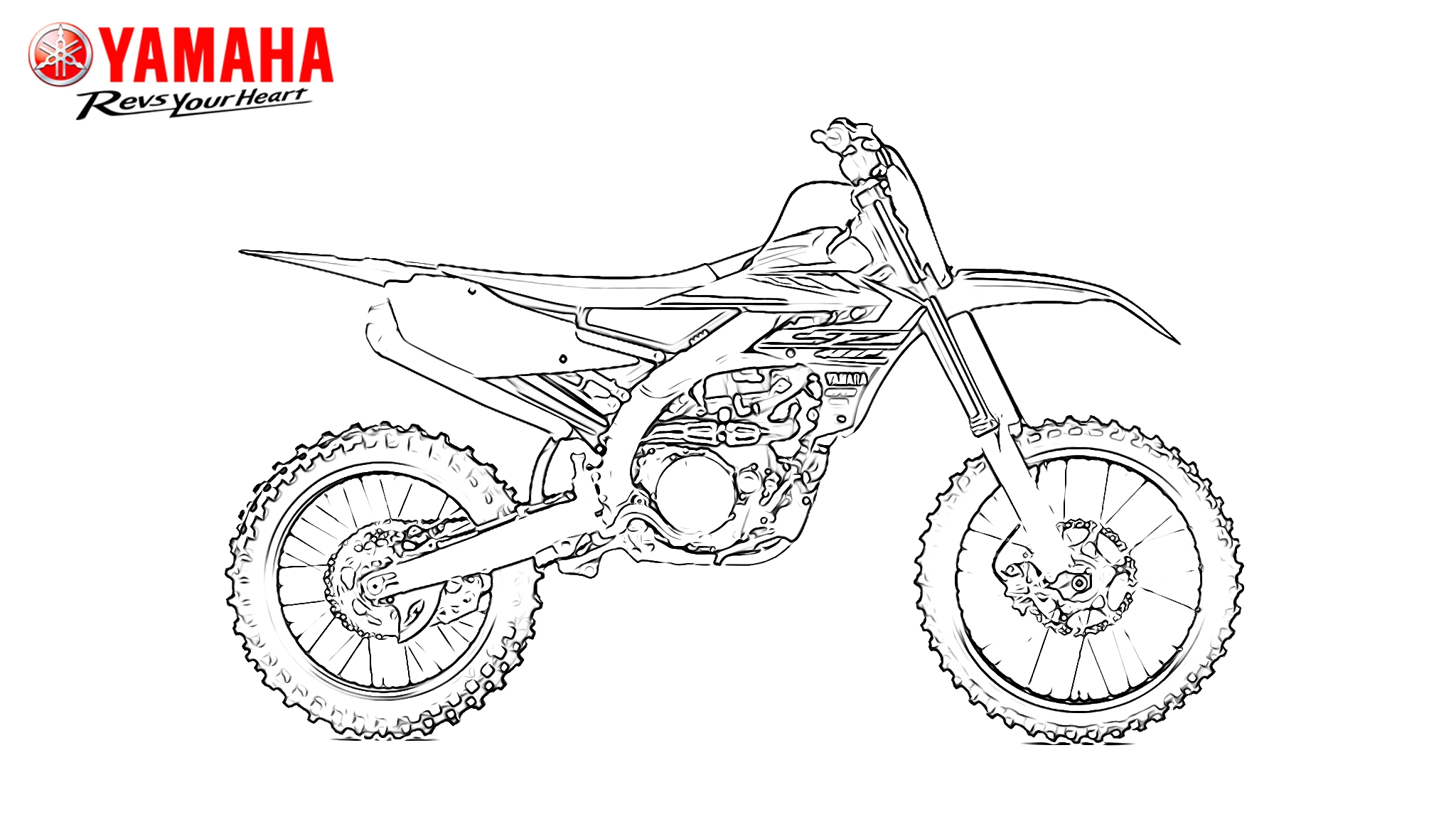 Confinement Covid-19 : des coloriages motos à imprimer