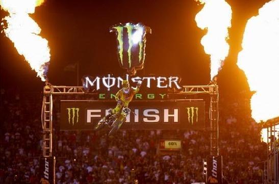 Las Vegas : victoire finale pour le champion SX US, Ryan Dungey
