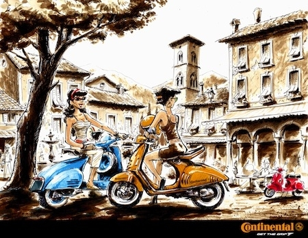 Continental & Gurel, épisode 8: la gamme scooter